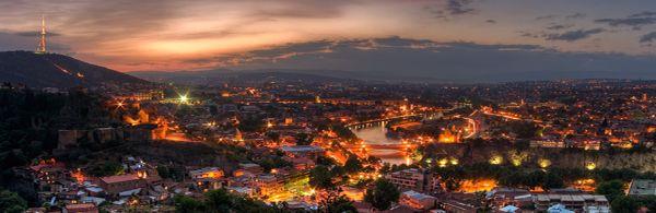 Tbilisi -Hoofdstad van Georgië